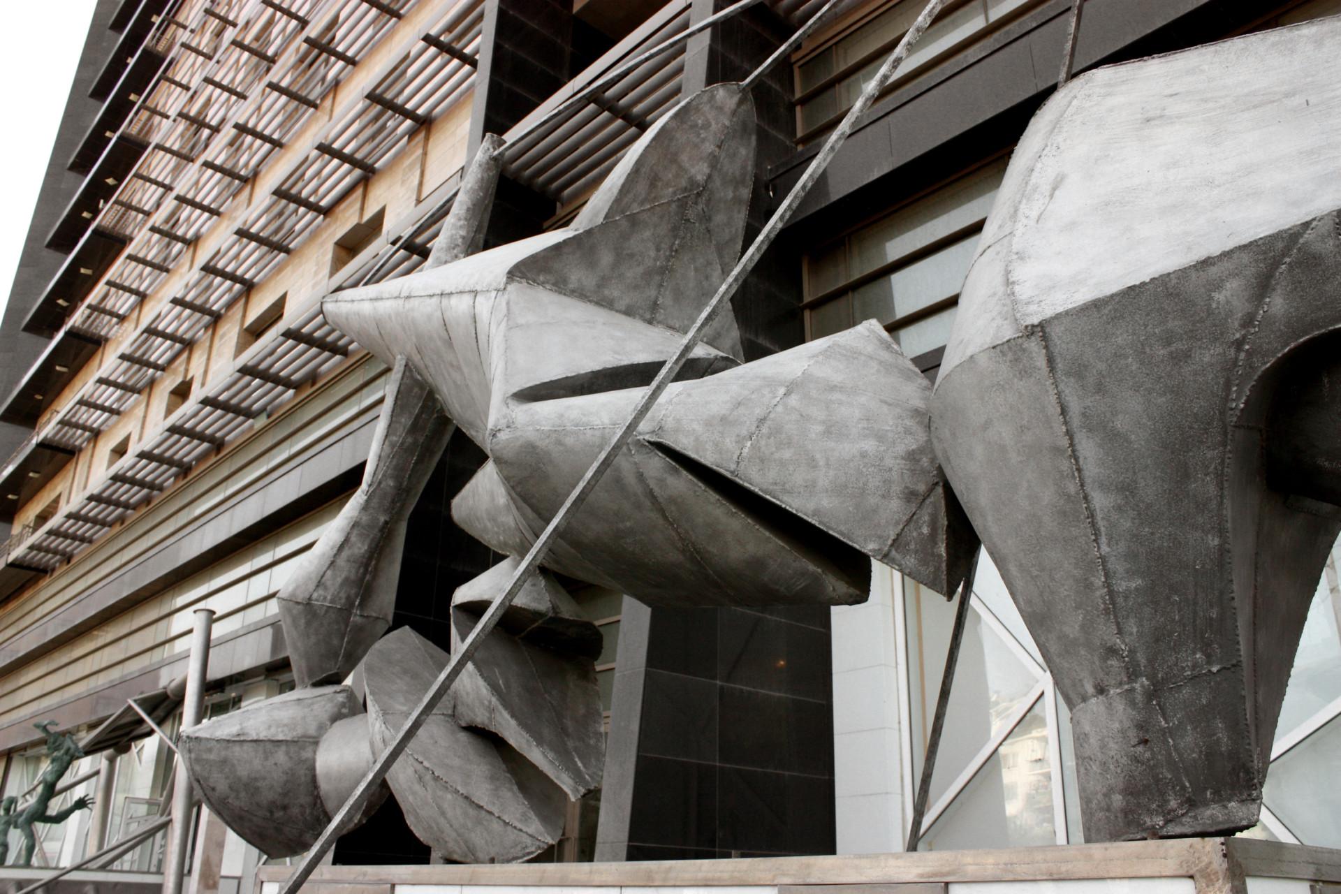 Ali Ibadullayev ---Kometa --- metall Museum of modern art Azerbaijan