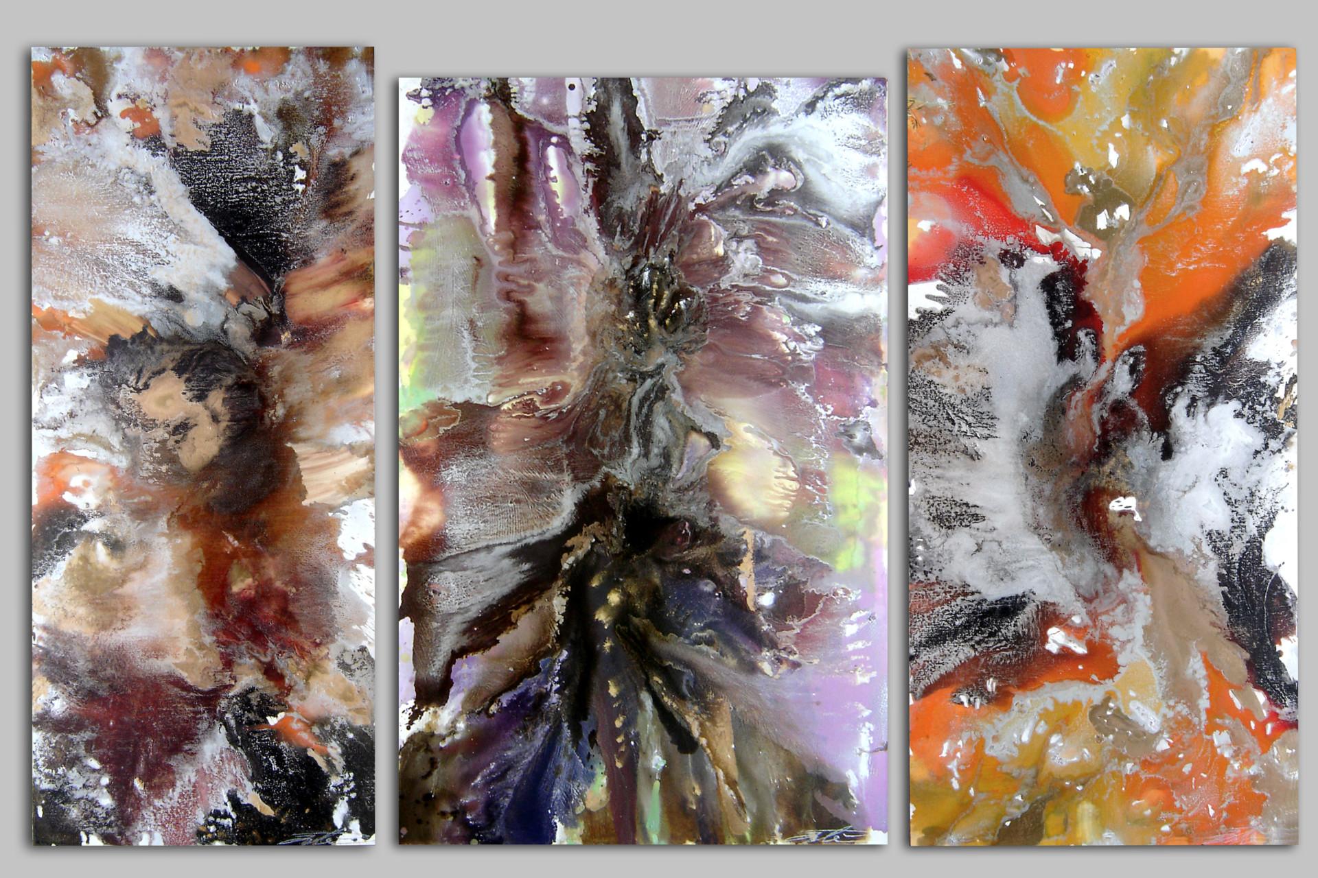 Ali Ibadullayev --- TRIPTYCH --- oil on canvas 2008