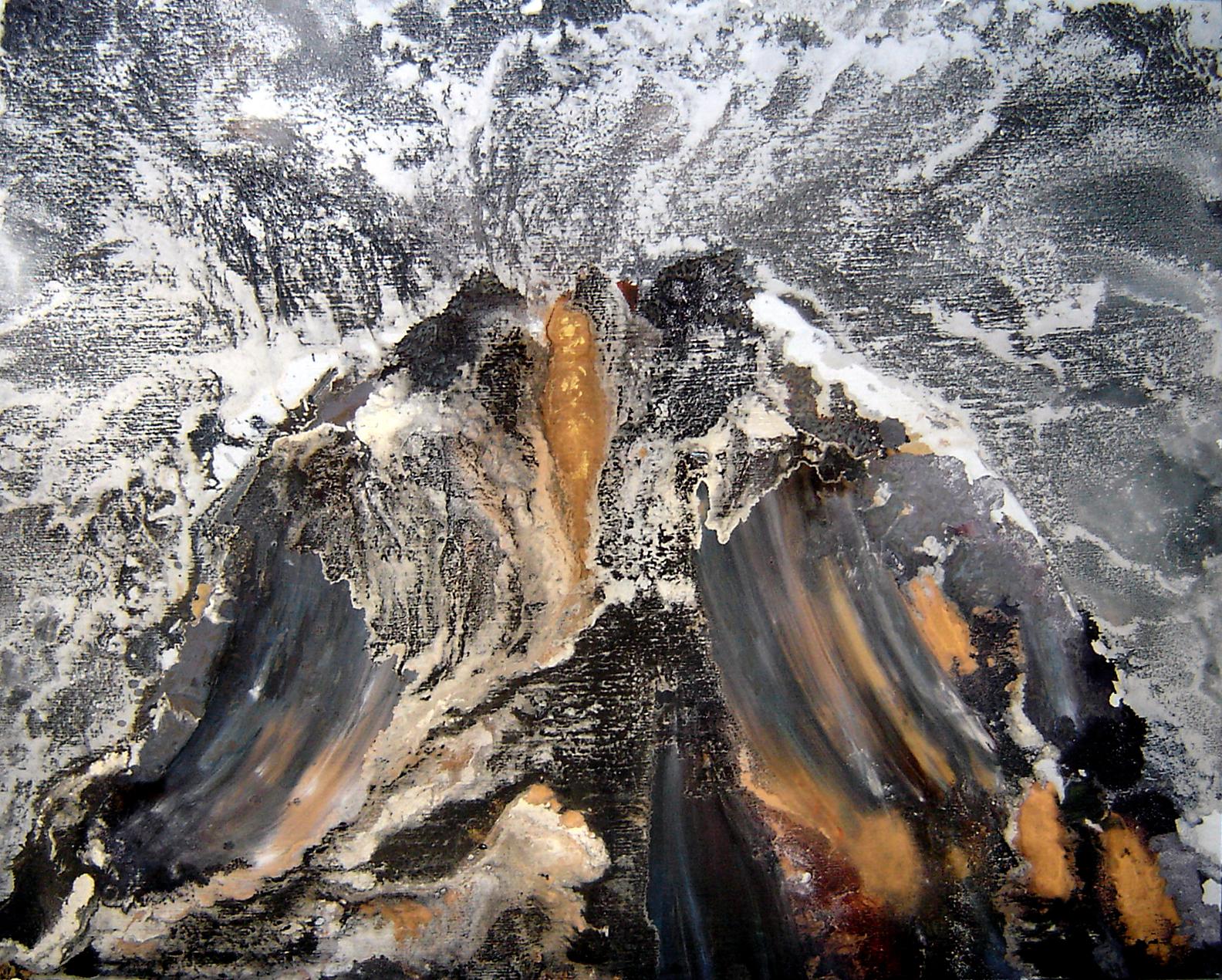 --- Volcano --- 150 x 130    2010