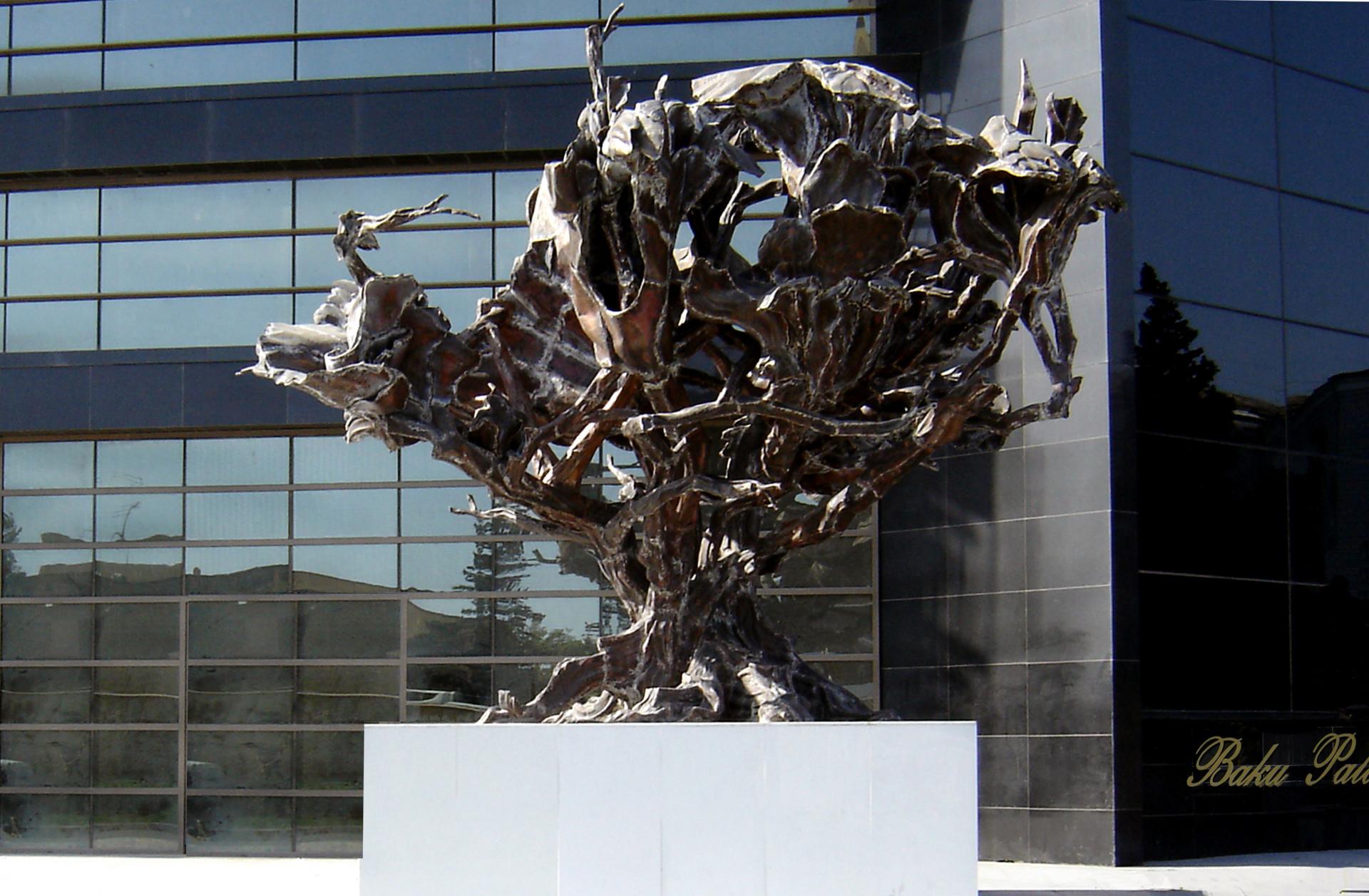 Ali Ibadullayev --Wind -- Museum of modern art Azerbaijan