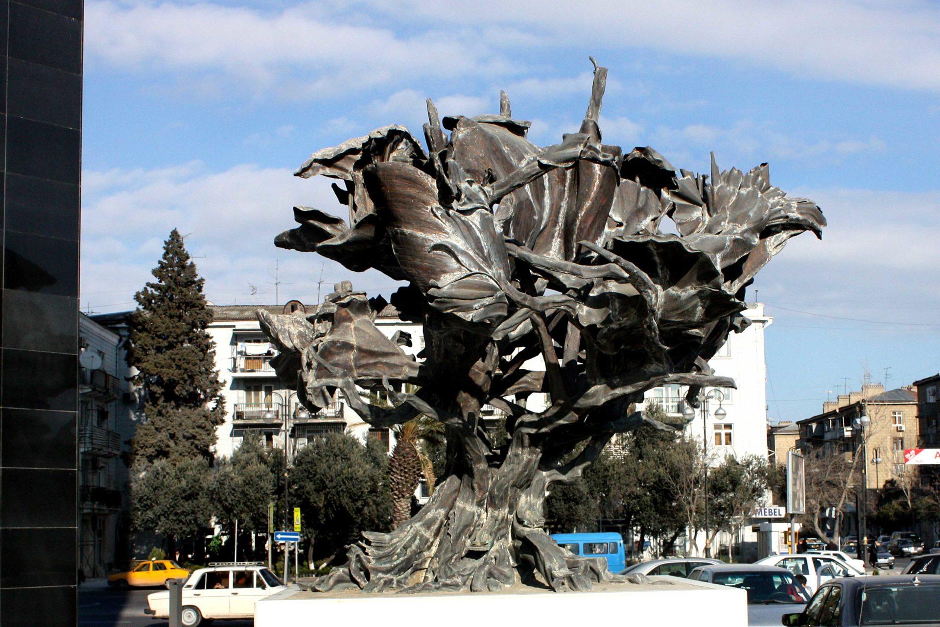 Ali Ibadullayev -- Wind --Museum of modern art Azerbaijan